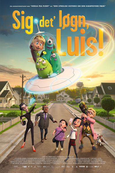 Sig DET' Løgn,Luis  (Luis and the aliens)